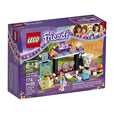 LEGO 6136480 Friends Amusement Park Arcade Building Kit (174 Piece) : Toys & Games