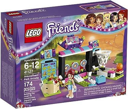 Amazon.com: LEGO Friends Amusement Park Arcade 41127 ...