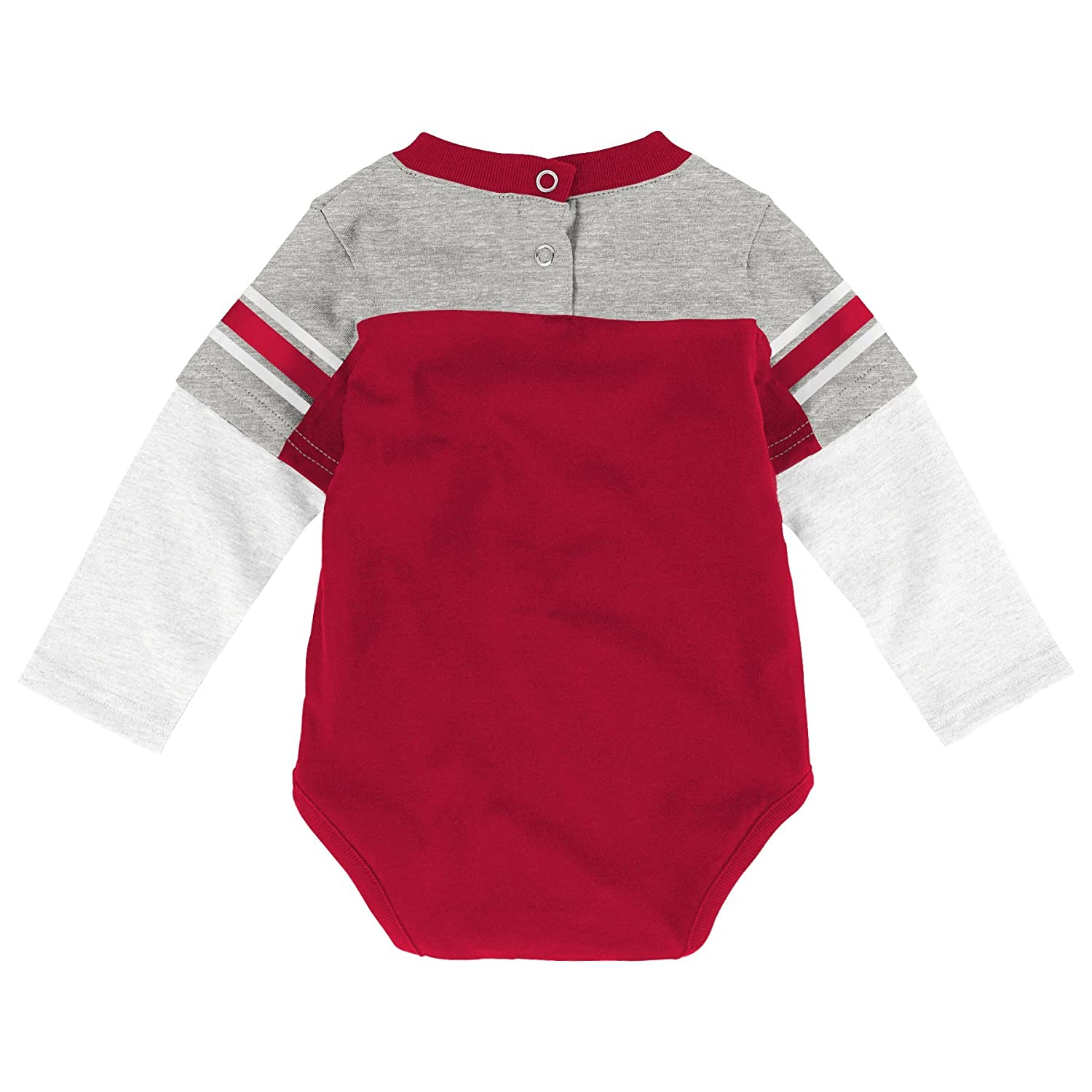 NCAA by Outerstuff NCAA boys Halfback Long Sleeve Onesie and Pant Set