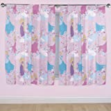 Disney 72-inch Princess Dreams Curtains, Multi-Colour