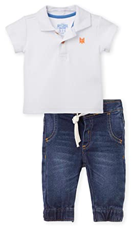 Amazon.com: OFFCORSS Baby Polo Outfits for Boys Jeans & Pique Polo ...