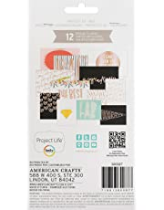 Project Life Specialty Card Pack, Project 52-Rad w/Copper Foil, 12-Pack