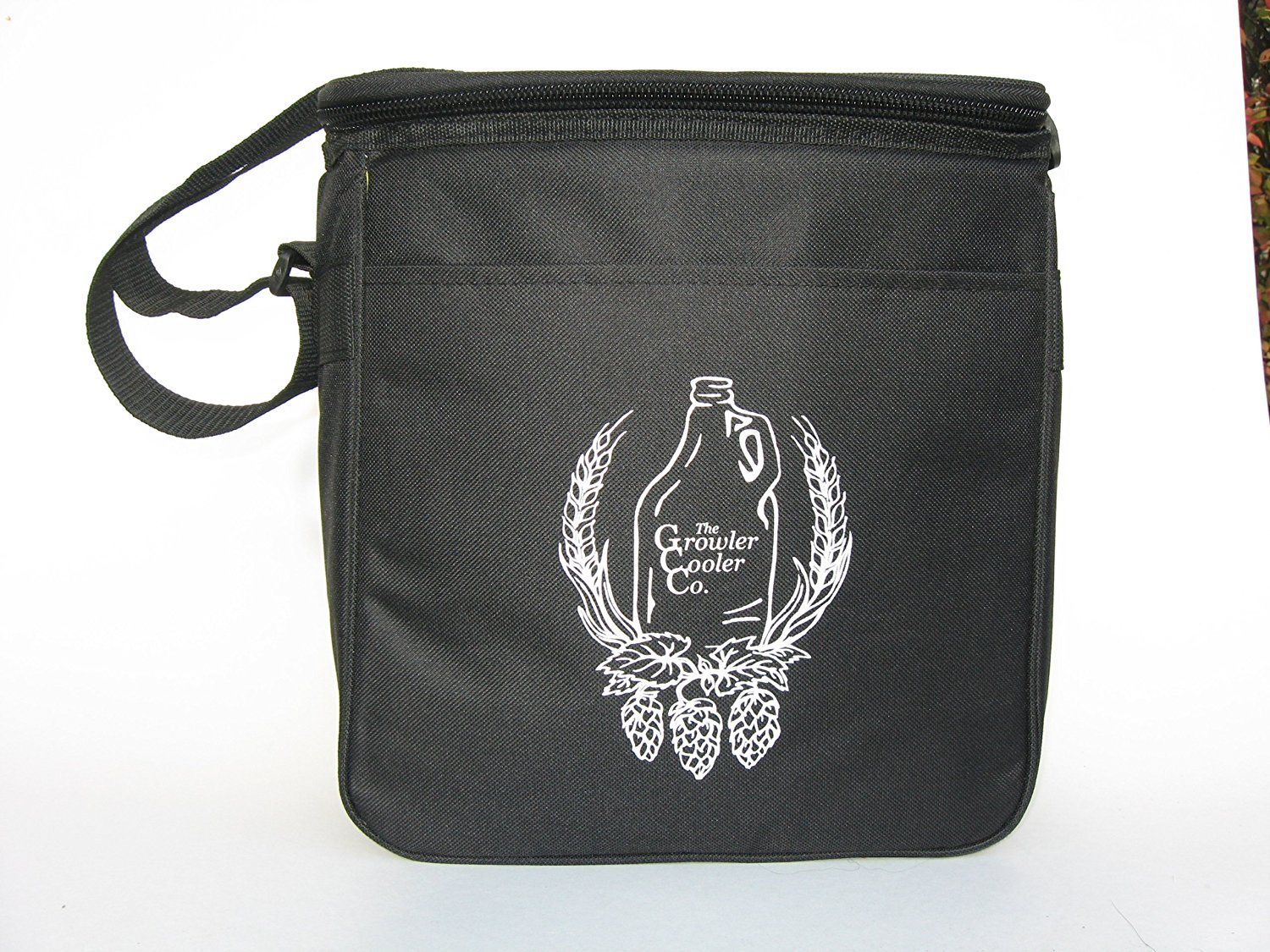 Custom Made Double Black Growler Cooler