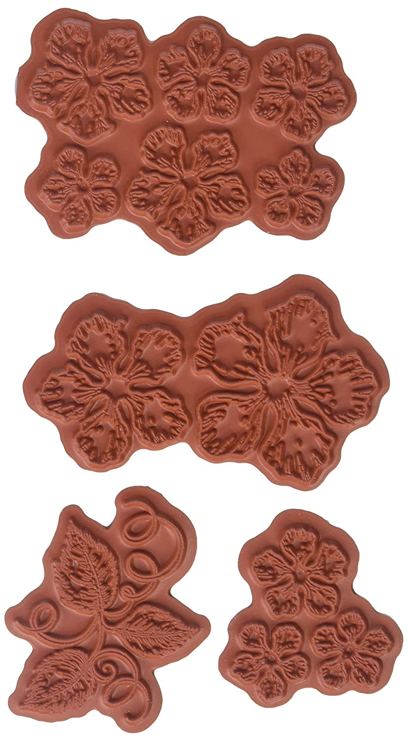 Heartfelt Creations Classic Rose Cling Rubber Stamp HCPC-3752