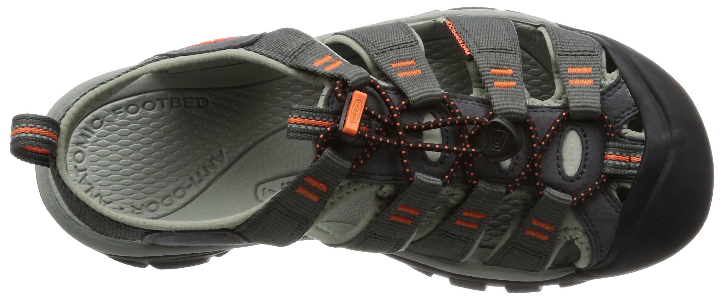 KEEN Men's Newport H2 Hiking Shoe, Magnet/Nasturtium, 15 M US by Keen (Image #8)