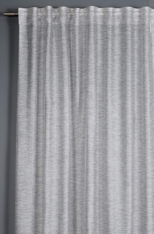 pl/ástico Color Blanco GARDINIA 10 Anillas de Cortina de 6 mm de Ancho