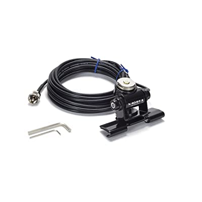Nagoya RB-700N Heavy Duty Universal NMO Lip Mount for Trucks, Hatchbacks, SUVs, and Cars (Multi Axis Adjustable); Includes 20\' of RG-58A/U Cable with a PL-259 Connector (Includes Rain Cap): Electronics [5Bkhe1015152]