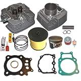 Top Notch Parts Replacement Fits Honda Rancher Trx350 TRX 350 Big Bore 355cc Cylinder Head Piston Kit 2000 2001 2002…