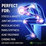 Hemp Pain Relief Roll On Gel, New More Potent