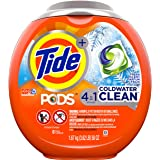 Tide PODS Coldwater Clean, Laundry Detergent Liquid Pacs, Fresh Scent, 61 Count - Packaging May Vary
