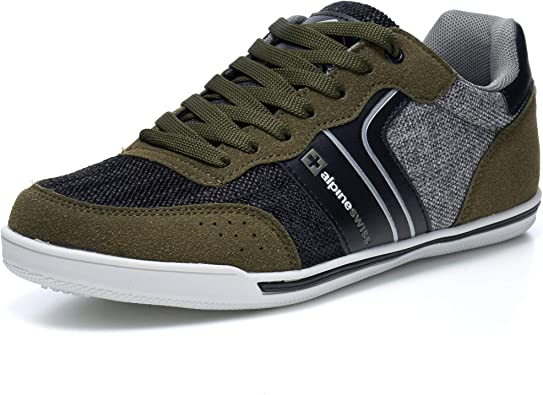 Alpine Swiss Liam Mens Fashion Sneakers