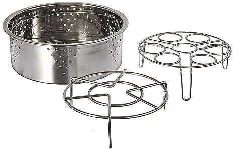 Amazon.com: Olla de presión Steamer Cesta Set Instant Pot ...