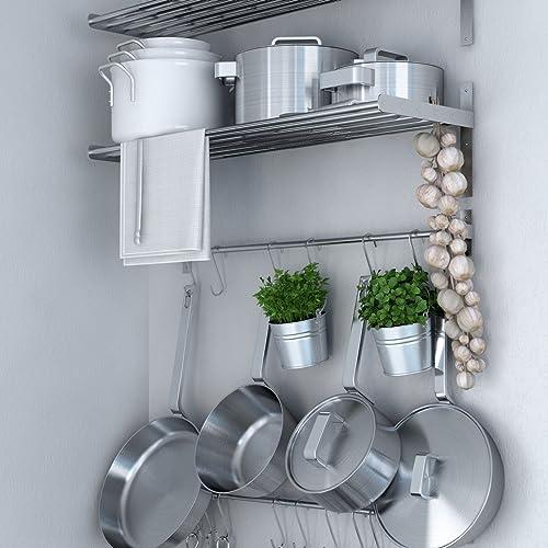 Kitchen Shelf Amazon: Ikea Pot Racks: Amazon.com