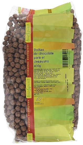 Biospirit Bolitas de Chocolate de Cultivo Ecológico - 400 gr
