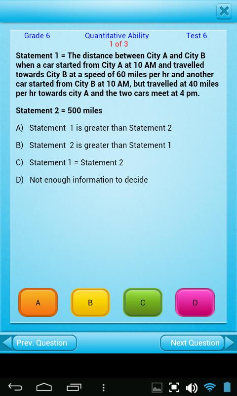 Amazon.com: FREE QVprep Lite 6th grade maths (quantitative) and ...