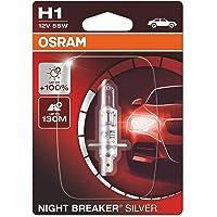 Osram Night Breaker Laser H1 next Generation Blister (1 lamp) H1 Night Breaker Silver
