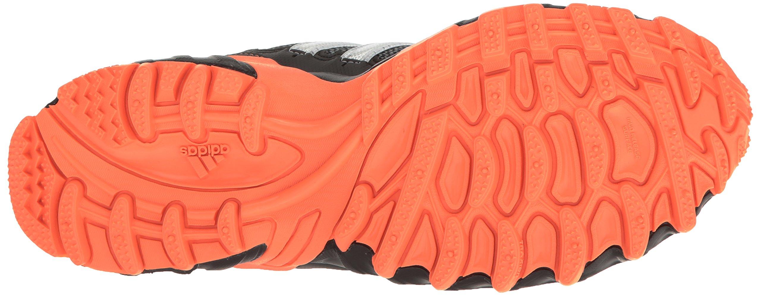 adidas Women's Rockadia Trail W Running Shoe Black/White/Easy Orange 6 M US by adidas (Image #3)