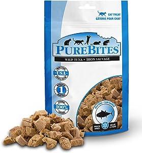 Purebites Tuna Freeze Dried Cat Treats, 0.88Oz | 25G - Value Size