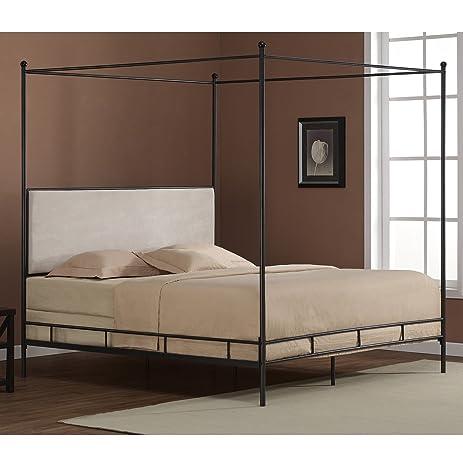 Lauren King Metal Canopy Bed & Amazon.com: Lauren King Metal Canopy Bed: Kitchen u0026 Dining