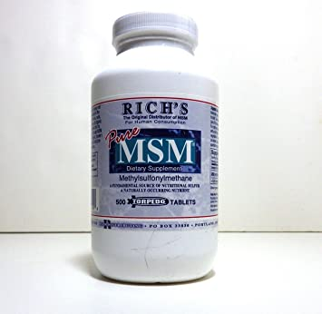 Rich's Pure MSM Capsules (500 Ct)