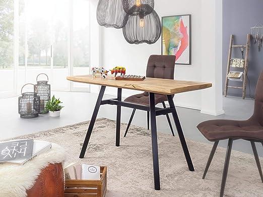 KS-Furniture - Mesa de Comedor (Madera Maciza de Mango, 180 x 78 x ...