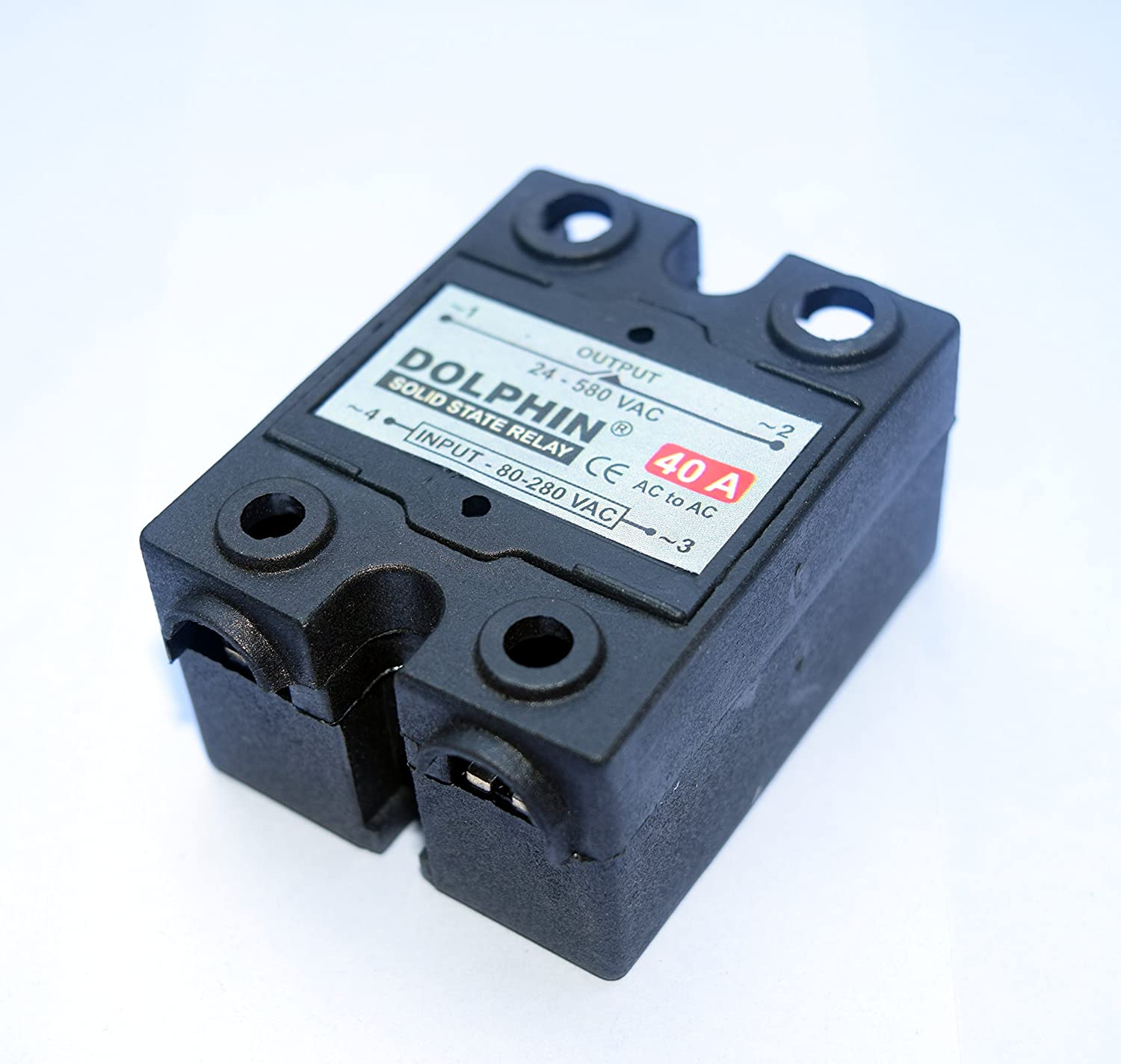 Solid State Relay Ssr Ac To Rating 40 A Make Dolphin Amazon For Industrial Scientific