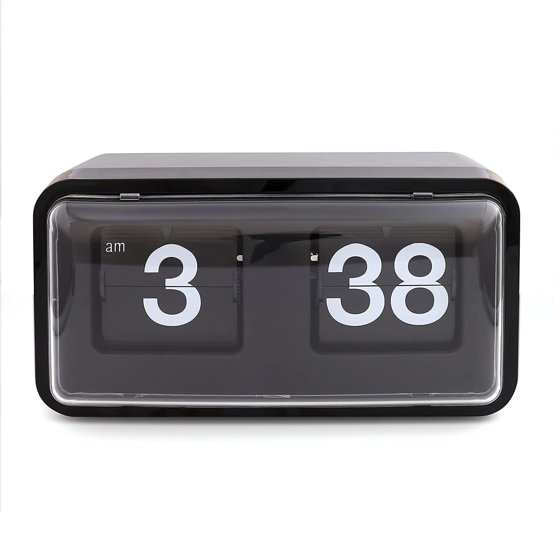 Amazon.com: XINFANGXIU Flip Desk Down Page Clock, Vintage ...