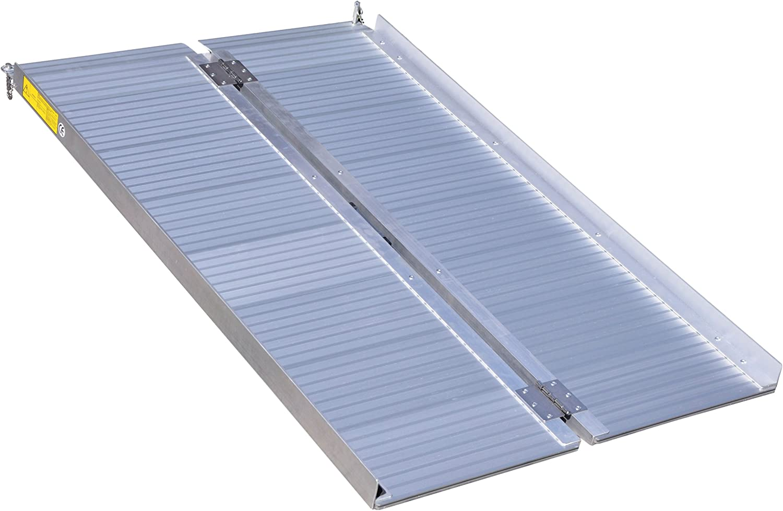 Aidapt - Rampas de aluminio para equipaje 91 cm