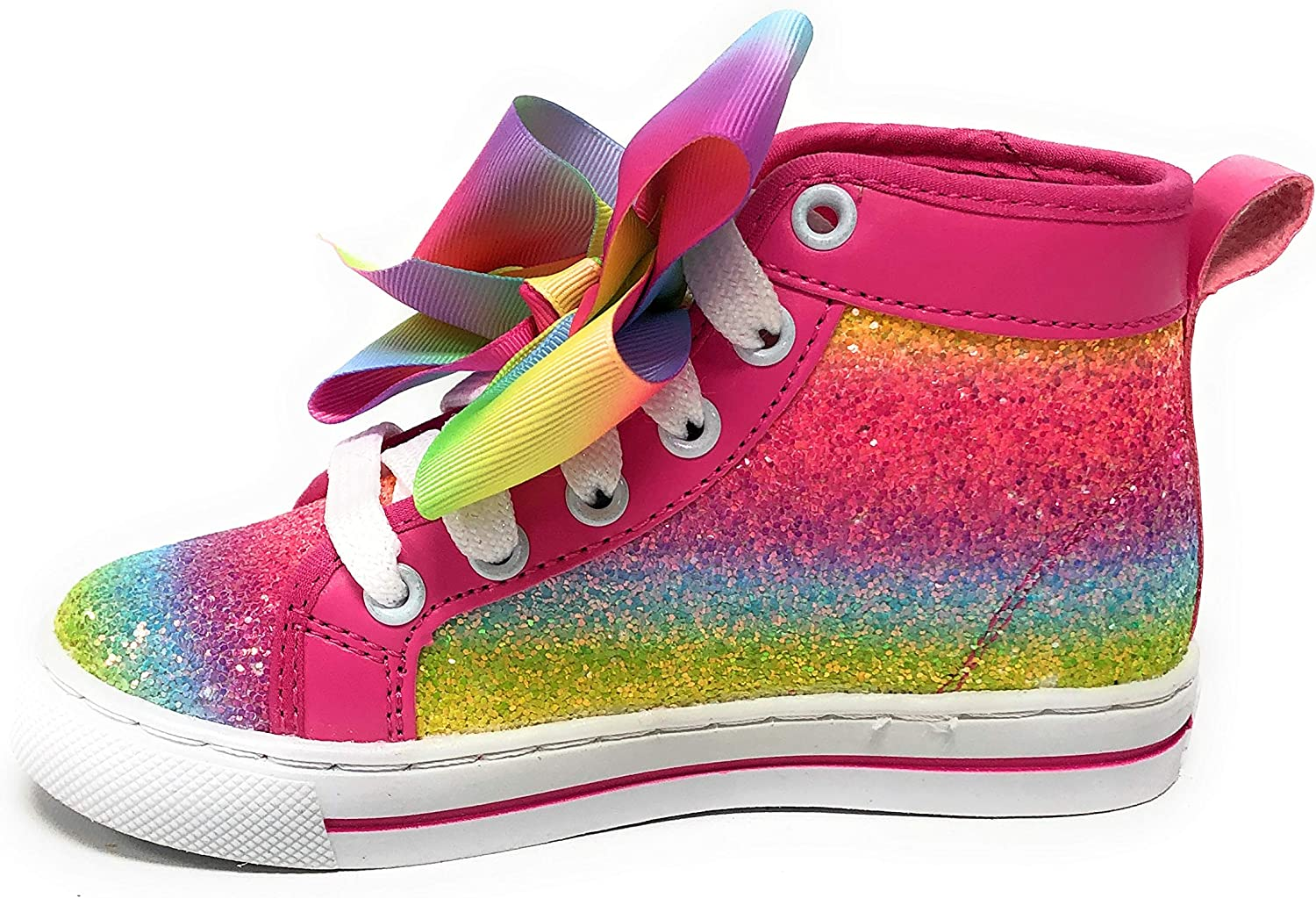 Amazon Com Jojo Siwa Girls Shoes Sneakers High Top Many Styles
