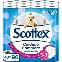 Scottex Megarollo Papel Higiénico, 48 Megarollos (equivale a