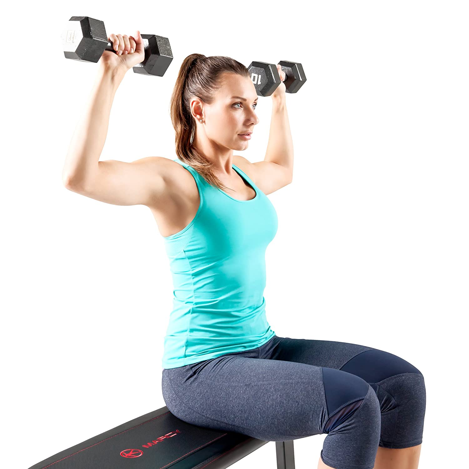 Weight Lifting Gym Fitness Workout Exercise Training Body: Flat Weight Bench Workout Fitness Gym Home Exercise