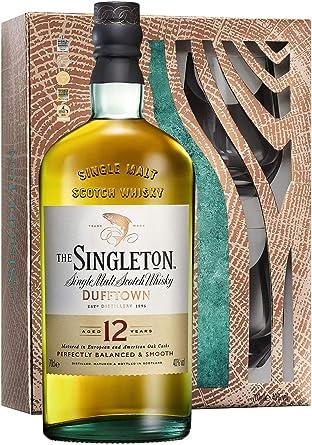 Dufftown - Singleton Single Malt & 2 x Glass Tumblers Gift Pack ...