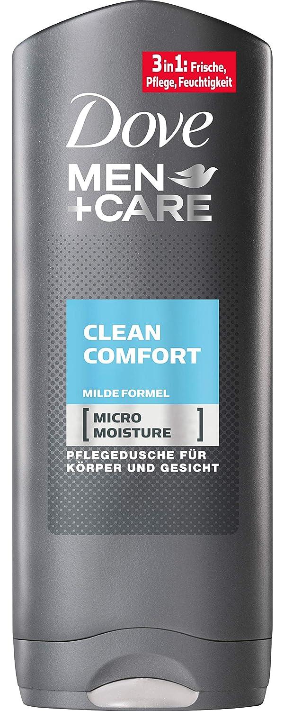 Dove Gel Men + Care Clean Comfort, 6 pack (6 x 250 ml ...