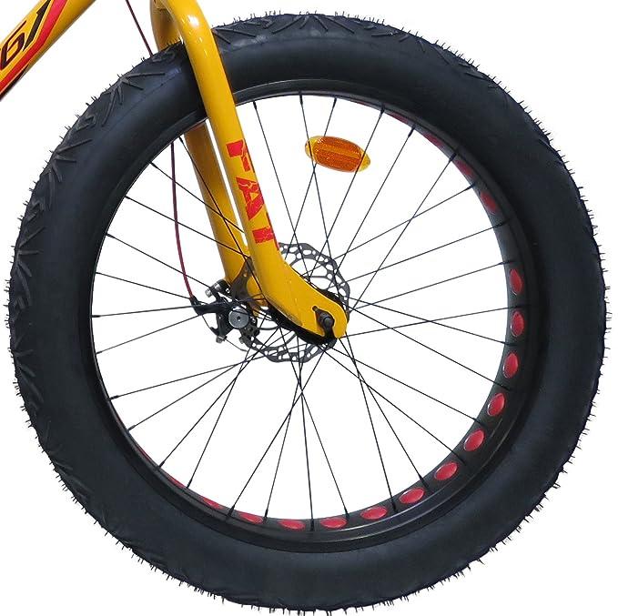 Bicicleta Route 66 Fat Bike de Aluminio: Amazon.es: Deportes y aire libre