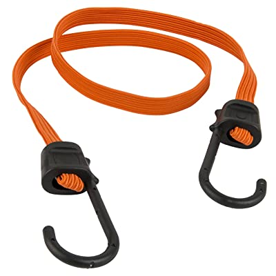 "Keeper 06127 36"" Narrow Flat Bungee Cord with SST Hooks, 2 Pack: Automotive"