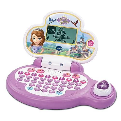 VTech - 155305 - Ordinateur Pour Enfant - Petit Genius Princesse Sofia