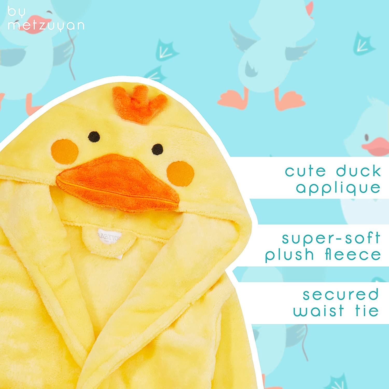 Unisex Baby Boys Girls Dressing Robe Novelty Animal Themed Gown Soft 6-24 Months