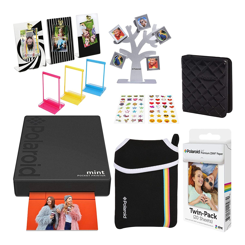 Polaroid Mint Impresora de Bolsillo Inalámbrica (Negro) Último ...