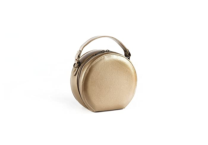 c78d457b2045 Image Unavailable. Image not available for. Color  Crossbody Round Bag