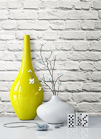 Steintapete Vliestapete Weiß Natur Stein , Schöne Edle Tapete Im Steinmauer  Design , Moderne 3D Optik