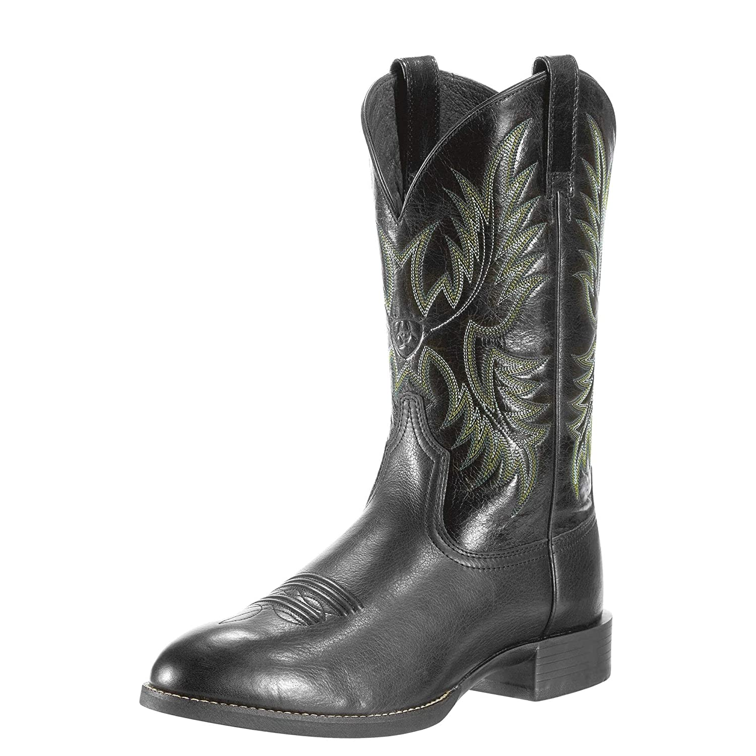 Ariat Mens Heritage Stockman Western Boot