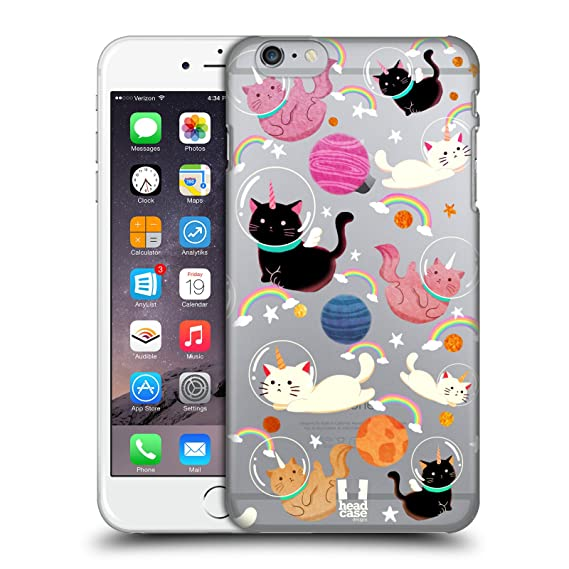 amazon com head case designs cat space unicorns hard back case forimage unavailable image not available for color head case designs cat space unicorns hard back case for iphone 6 plus iphone 6s
