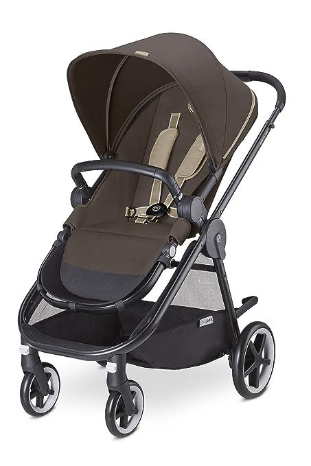 Cybex Iris M-Air - Silla de paseo (desde el nacimiento hasta 17 kg), color Olive khaki