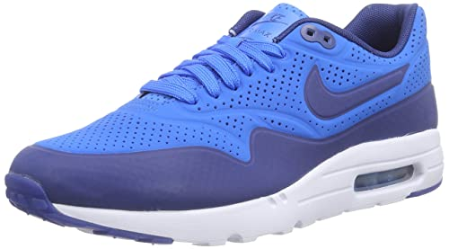 c69aaab0eb Nike Air Max 1 Ultra Moire, Men's Trainers, Blue (photo blue/insignia