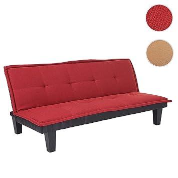 Mendler 3er Sofa Alessandria Couch Schlafsofa Gastebett Bettsofa