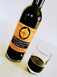 Giannetti Artisans Certified Balsamic Vinegar Imported from Modena - IGP (PGI Certified & Aged 12 years) 8.8 oz