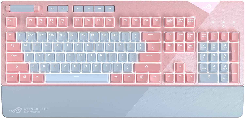 ASUS ROG Strix Flare PNK LTD RGB Mechanical Gaming Keyboard
