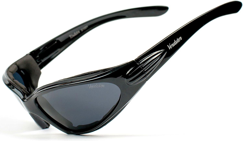 Verdster Airdam Polarisierte Motorrad Sonnenbrillen Für Herren Ideal Zum Fahren Uv Geschützter Verbesserter Komfortabler Faltbarer Rahmen Auto