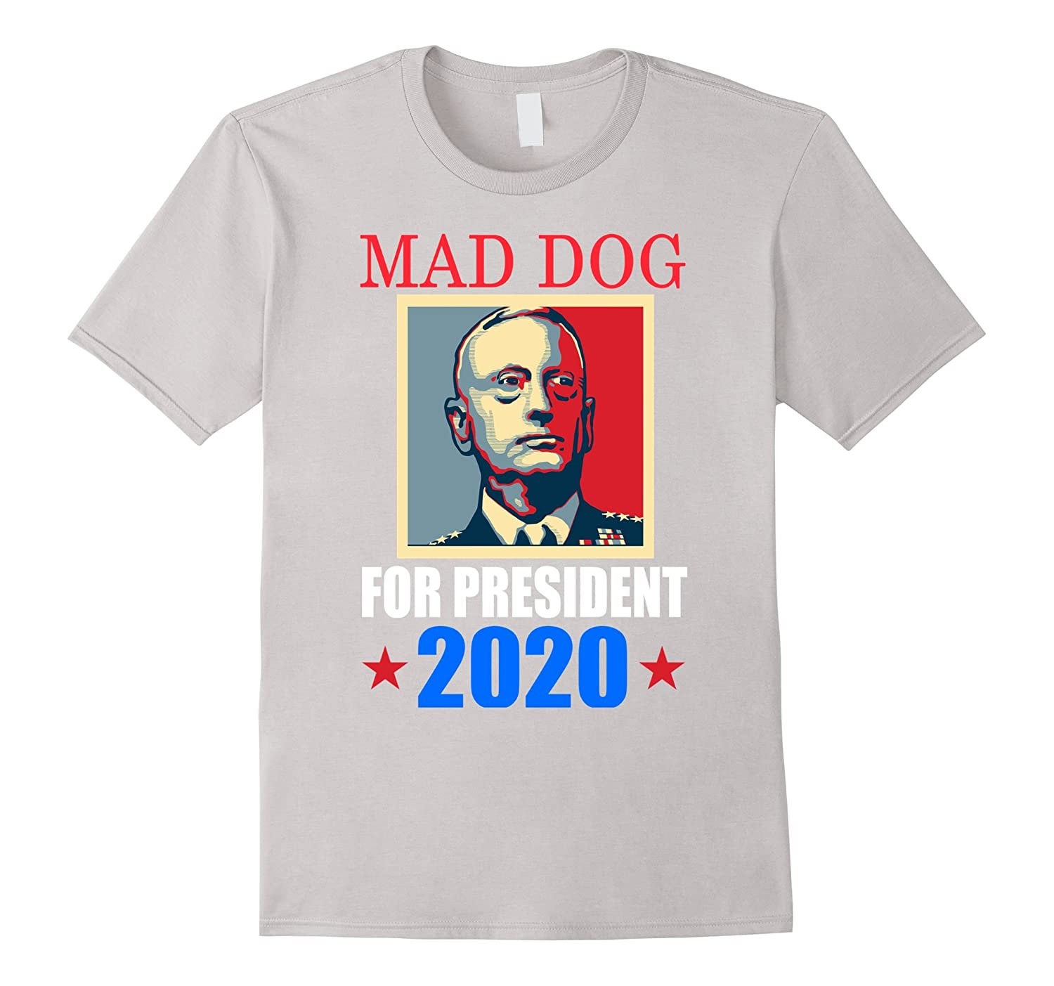 General Mad Dog Mattis Knifehands For President 2020 T-shirt-TH