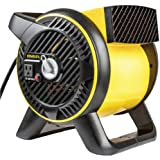 Stanley Industrial High Velocity Blower Fan - Pivoting Blower Head, Accessory Outlet, 3 Speed Settings, Portable (ST…